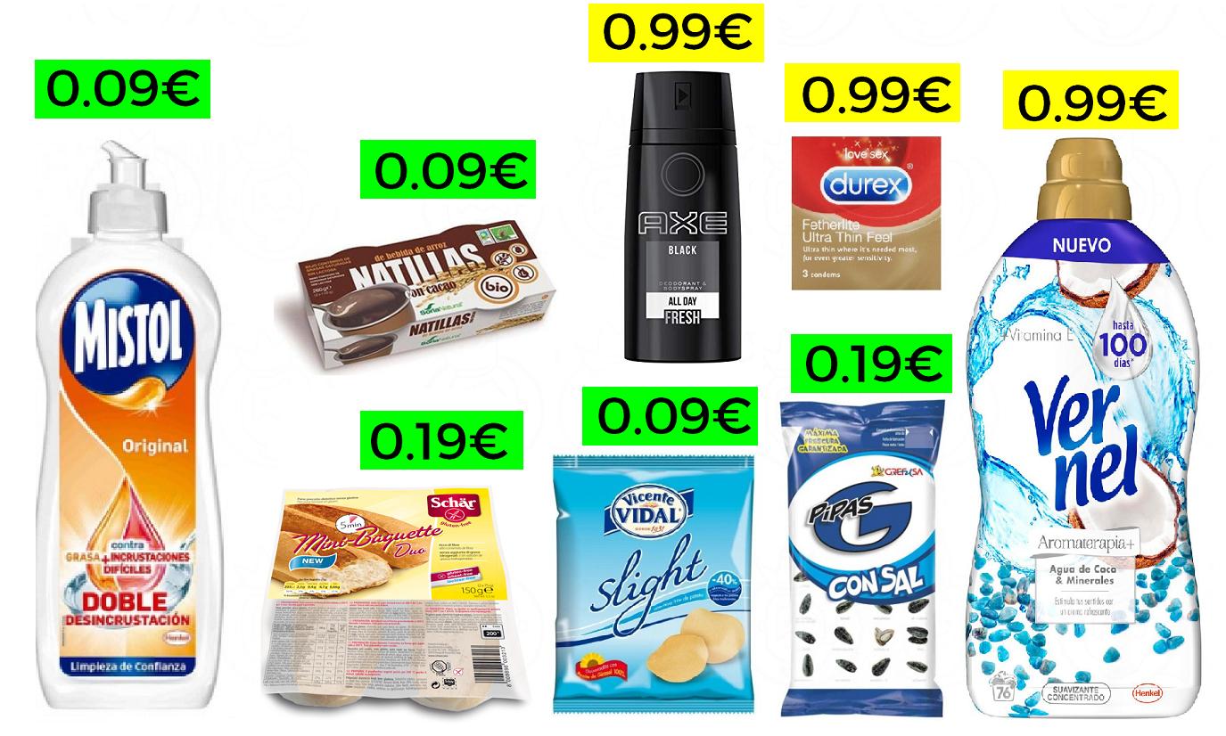+200 Productos de Super a menos de 1€