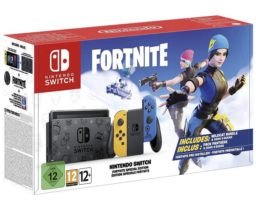 Nintendo Switch Edición Fortnite por 296€