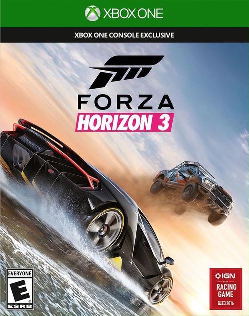 Forza Horizon 3 Xbox ONE solo 16.9€