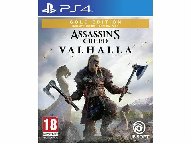 Assassin's Creed Valhalla Gold (Juego + pase de temporada) PS4