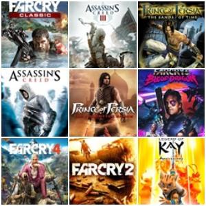 Descuentos Assassin's Creed, Prince of Persia, Far Cry y otros (XBOX, XBOX 360, PC)