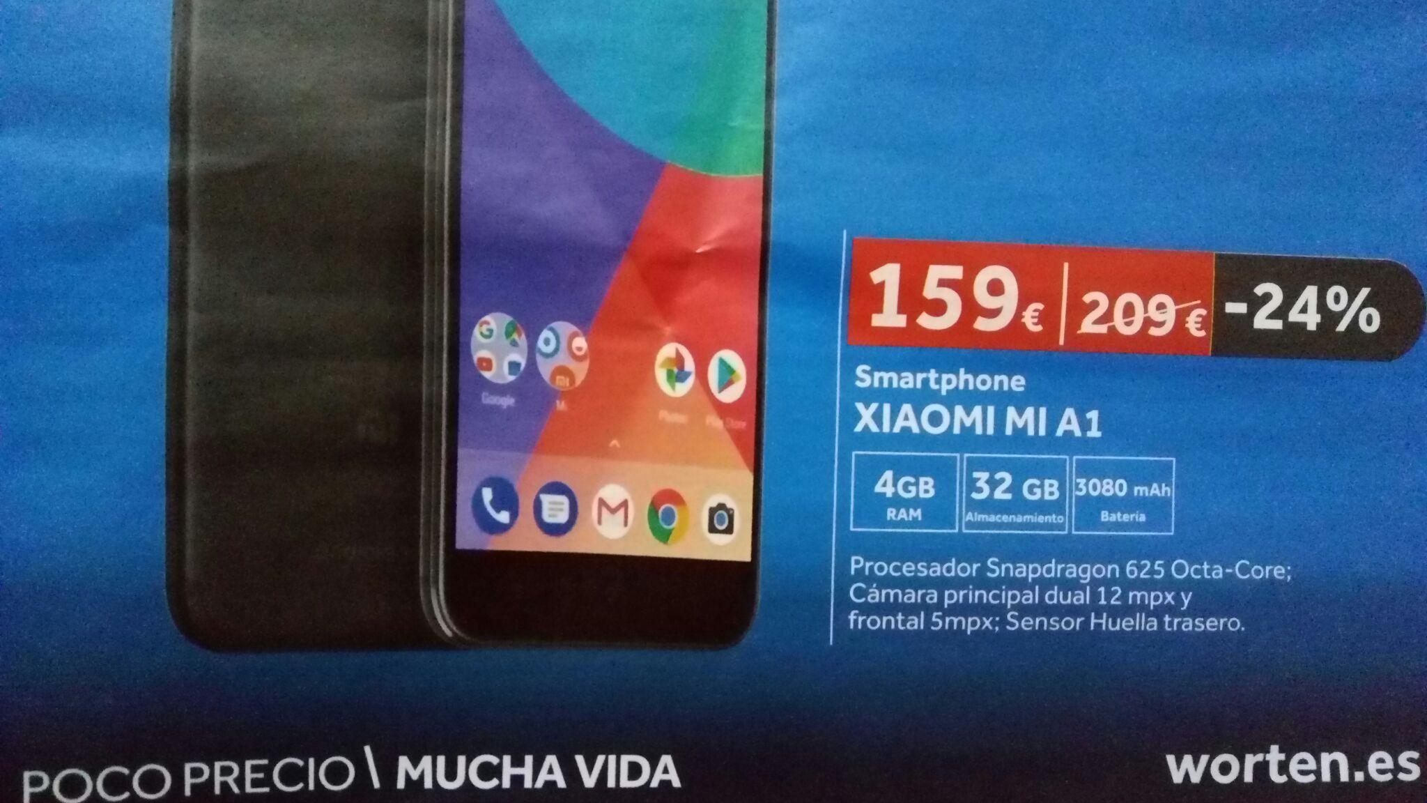 Xiaomi Mi A1 en Worten