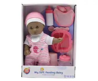 Bebé de 30cm con sonidos y accesorios