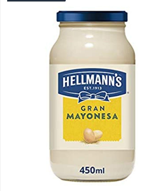 Hellmann's Mayonesa, 450 ml - Pack de 4 (compra recurrente)