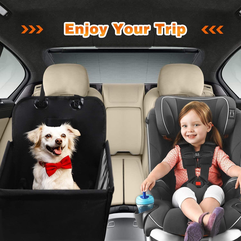 Silla de coche para mascotas + cinturón de seguridad