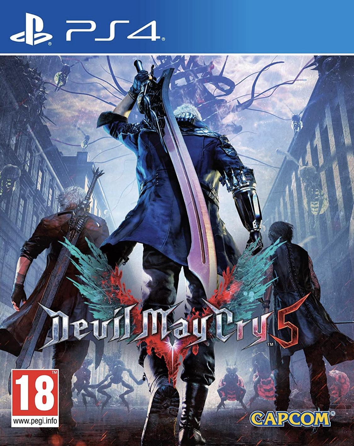 Devil May Cry 5 para PS4