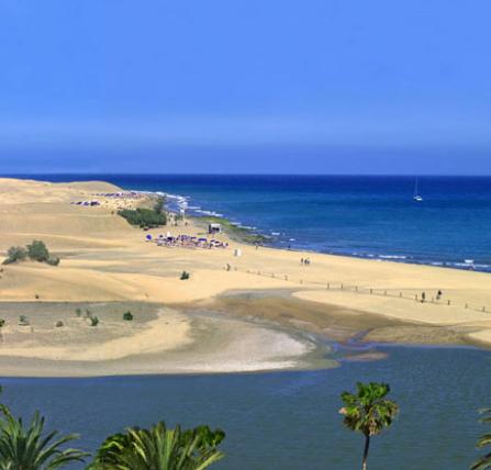 Gran Canaria en agosto 305€/p =  7 noches en hotel con desayunos y vuelos incluidos
