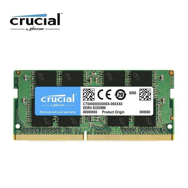 Oferta en memorias RAM Crucial SO-DIMM DDR4 (2x8Gb 2666Mhz y más)