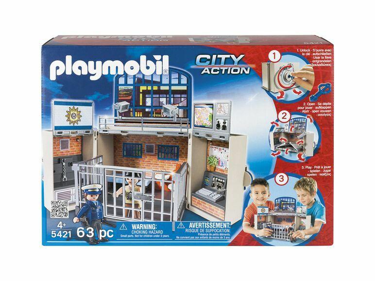 Estación de policía Playmobil