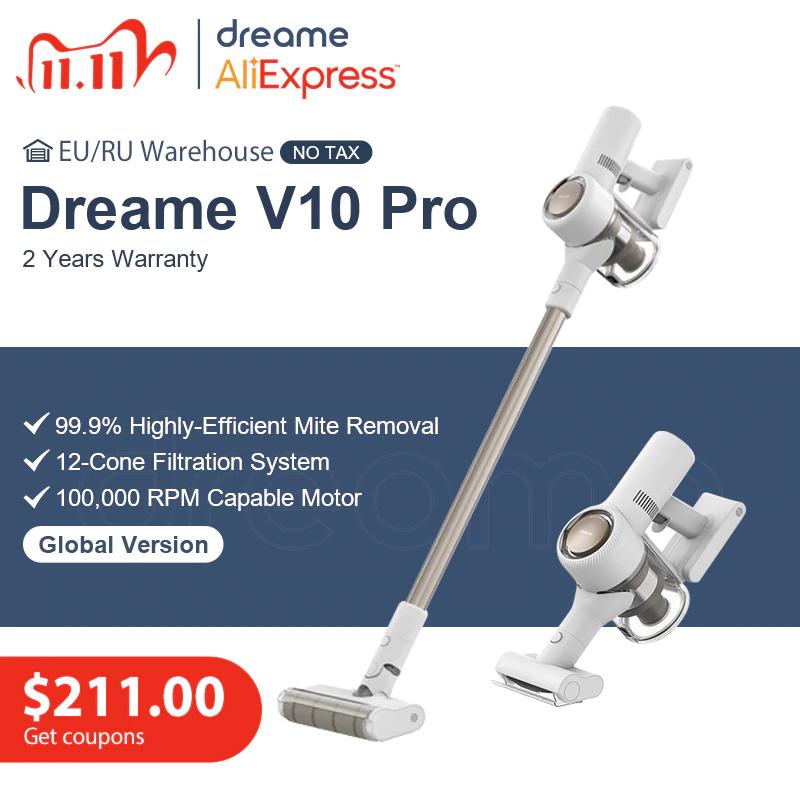 Aspiradora inalámbrica Dreame V10 PRO - Desde España