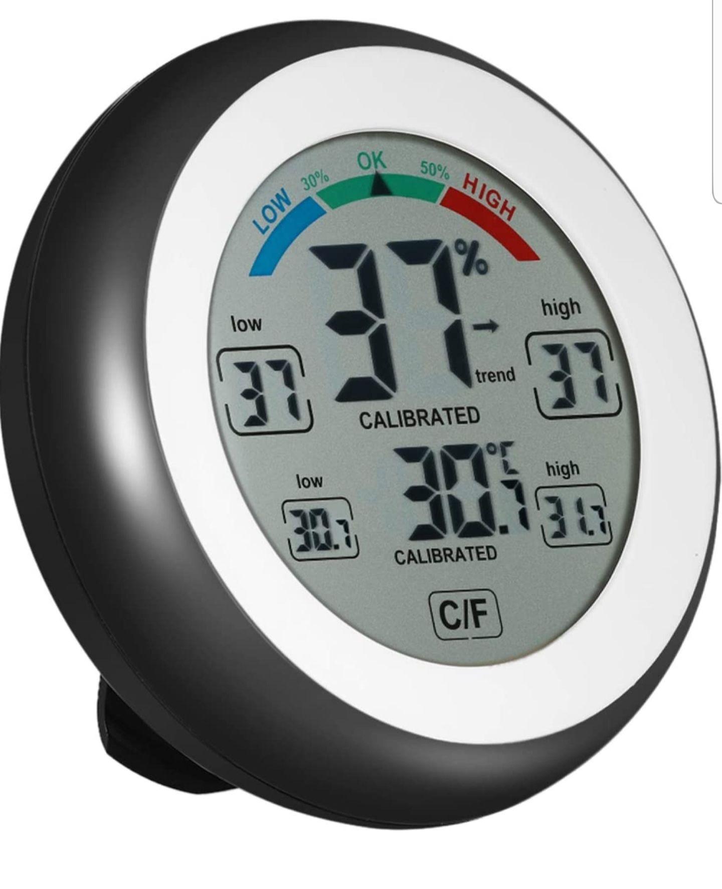 Kedelak ° C / ° F Digital termómetro higrómetro humedad