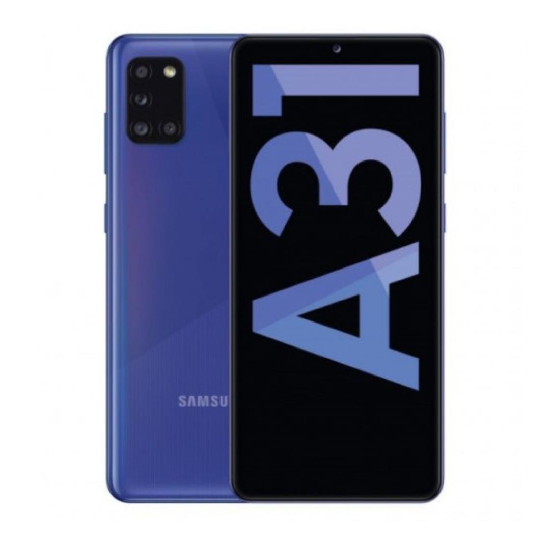 Samsung GALAXY A31 4+64GB (AZUL o NEGRO)