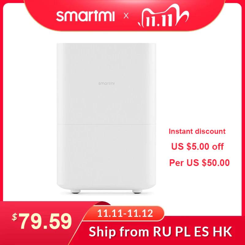 SMARTMI-humidificador de aire para el hogar, difusor de Aroma 4L - Desde España