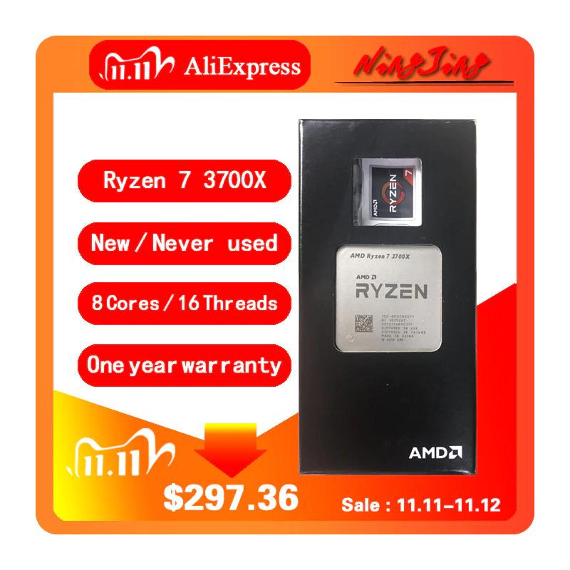 AMD Ryzen 7 3700X (NUEVO, sin disipador)