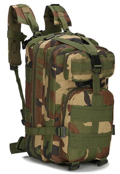 Mochilas militares al aire libre 1000D Nylon 30L