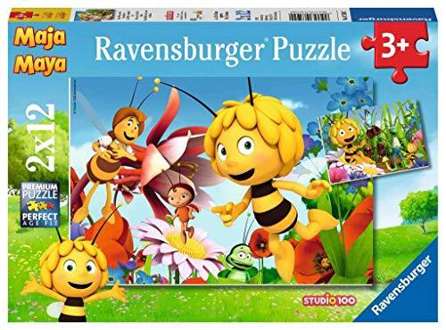 Ravensburger la abeja Maya Puzzle 2x12 piezas