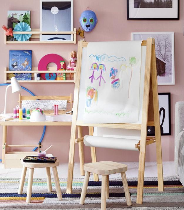 Caballete niñ@s en el IKEA San Sebastián de los Reyes