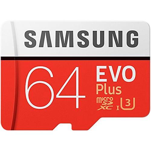 2 x Samsung 64GB Evo Plus Micro SD
