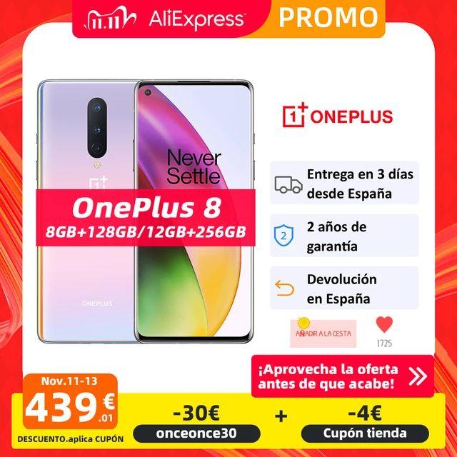 Oneplus 8 8/128 Desde España(Rom global)