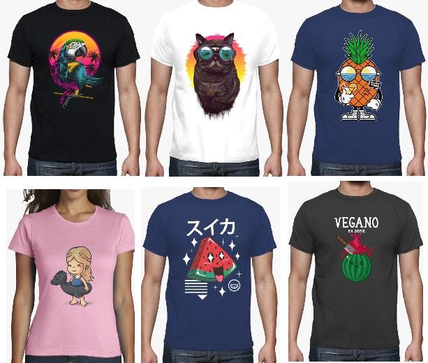 Cupón 33% para LaTostadora - Recopilación camisetas veraniegas.