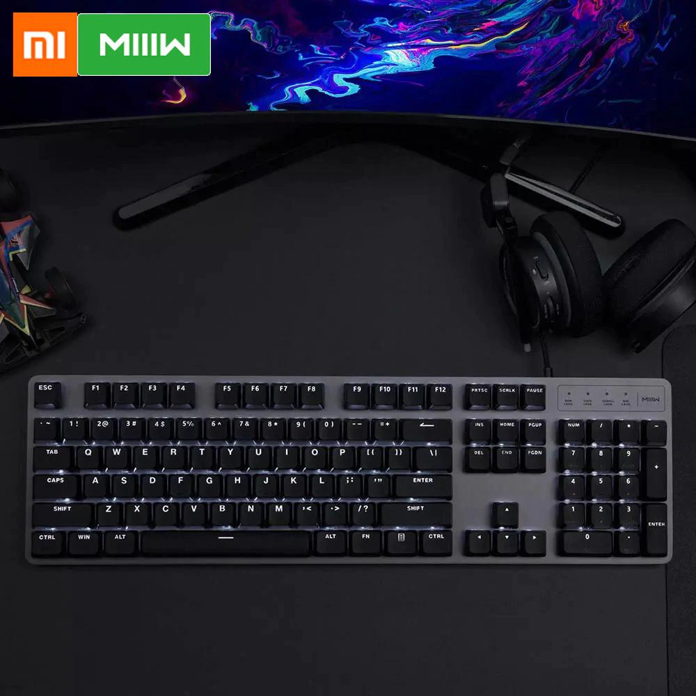 Teclado mecánico Xiaomi MIIIW 600K por solo 28€