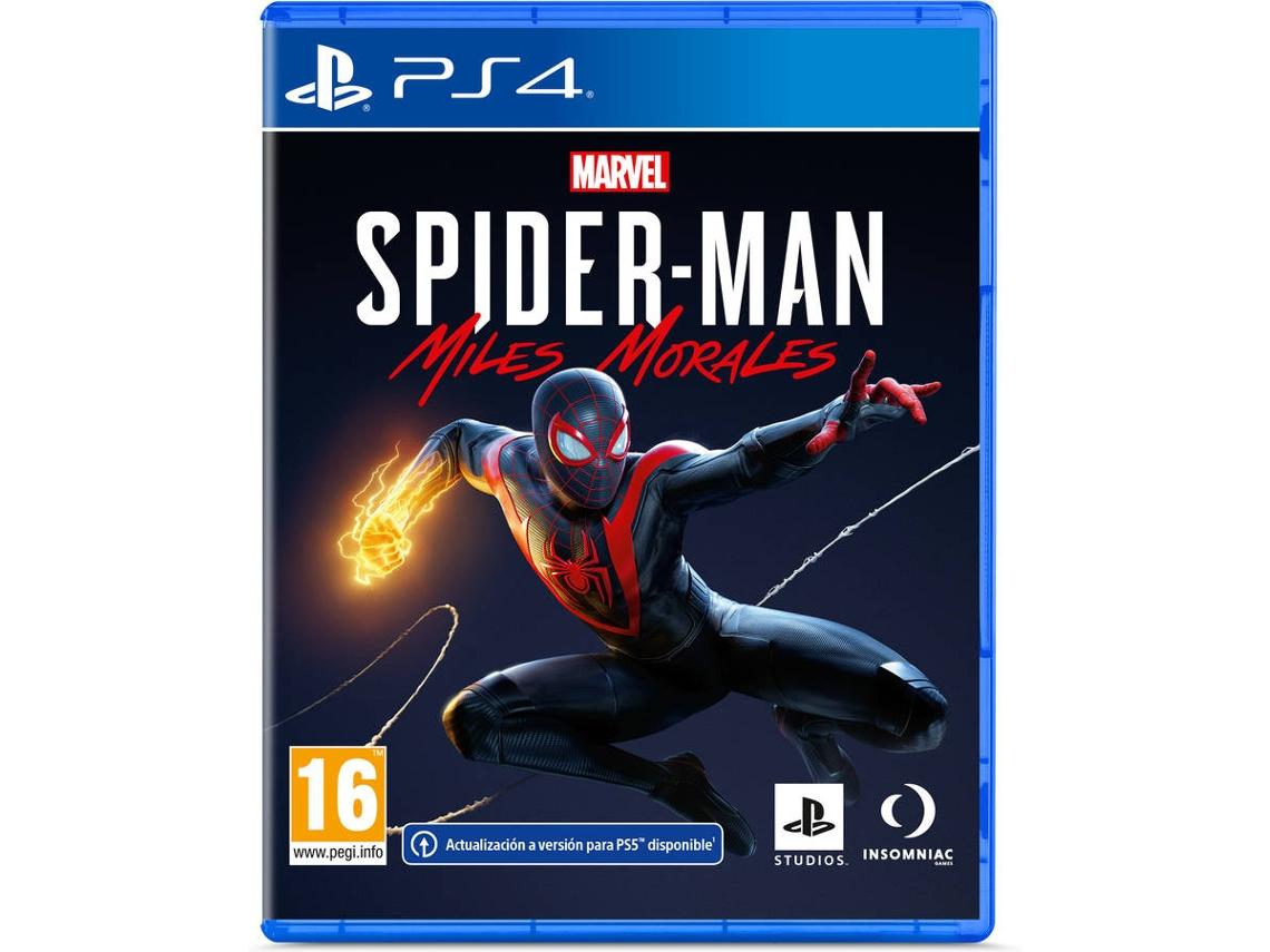 Marvel Spiderman Miles Morales PS4