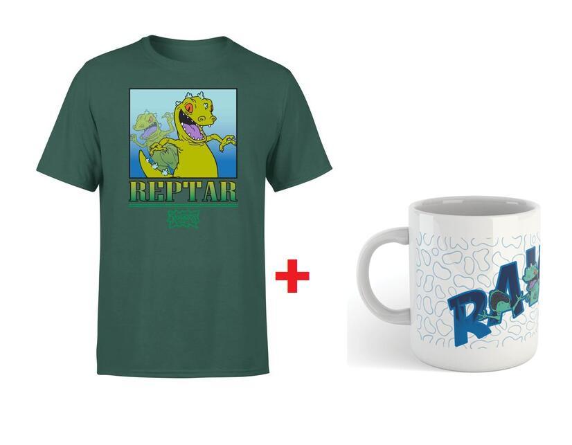 Camiseta + taza Rugrats (Aventura en pañales)