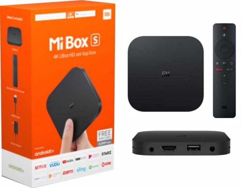 Xiaomi Mi Box S desde España por 42€
