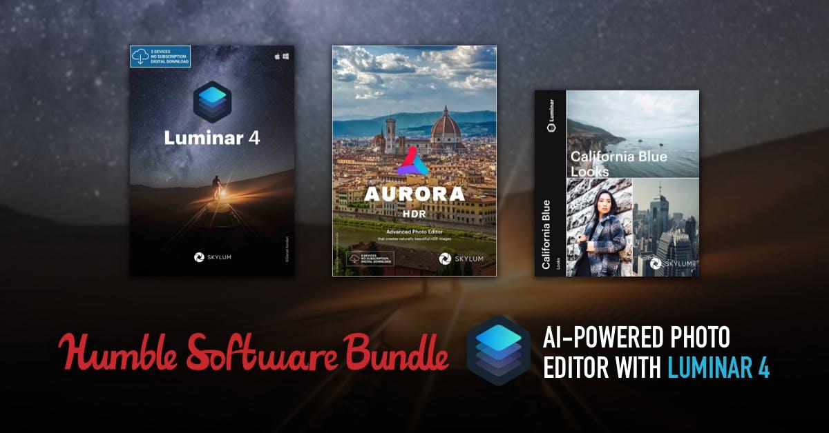 Luminar 4 + Aurora HDR + Presets por 21,31
