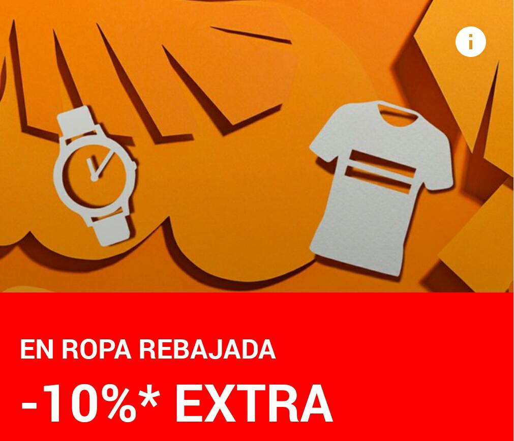 -10% EXTRA en ropa rebajada de Zalando