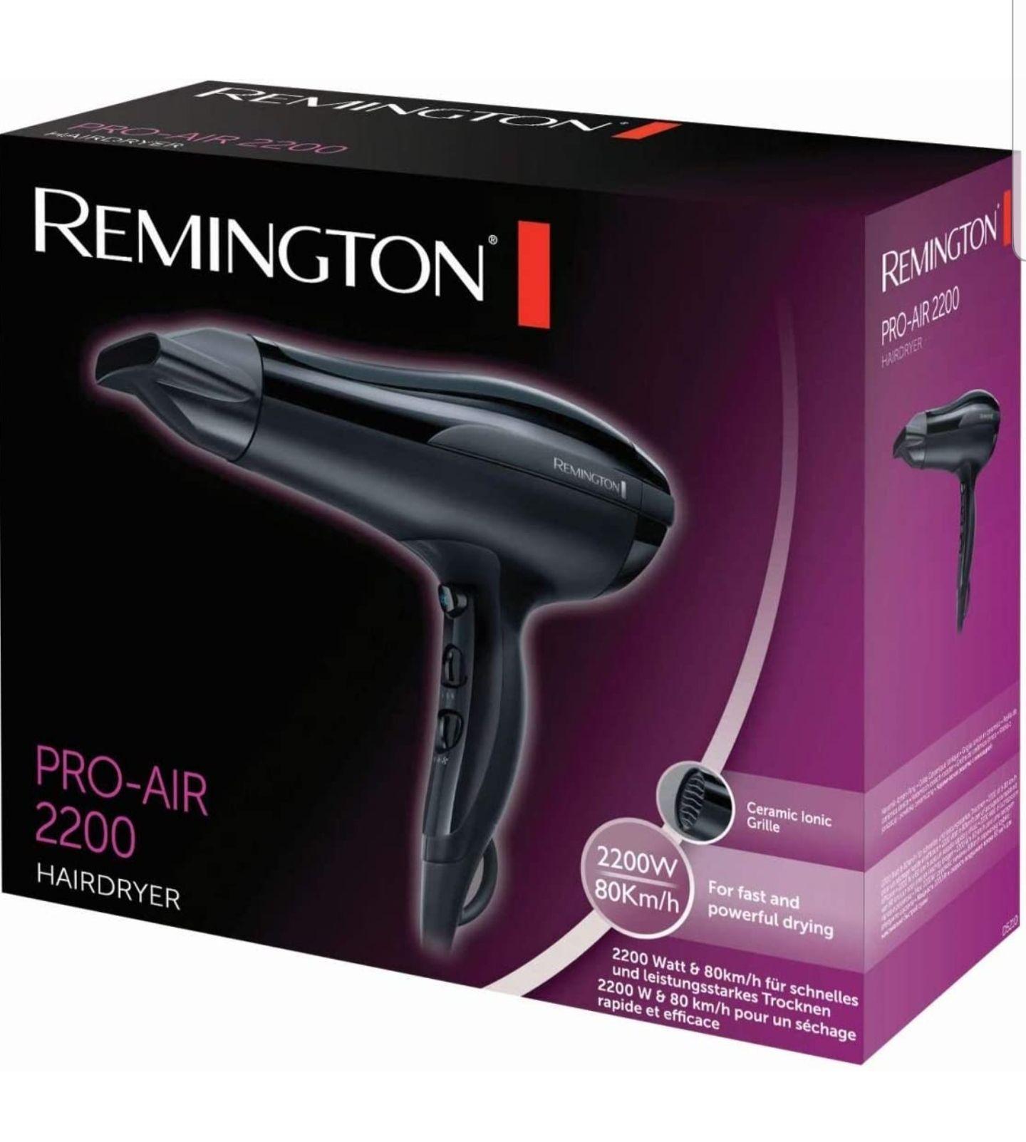 Remington D5210 Pro Air - Secador de Pelo Iónico 2200W