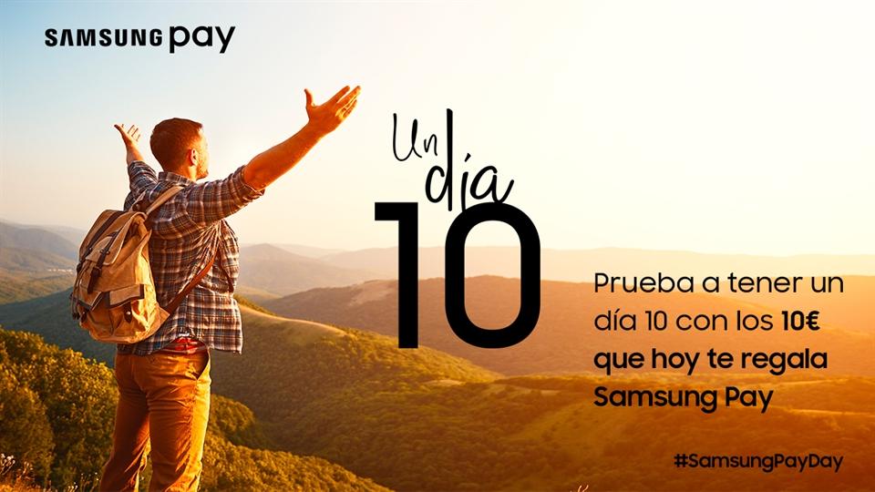 10€ GRATIS con Samsung Pay