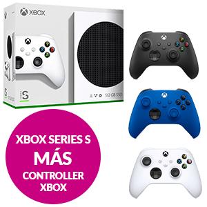 Xbox Series S + 2 mandos