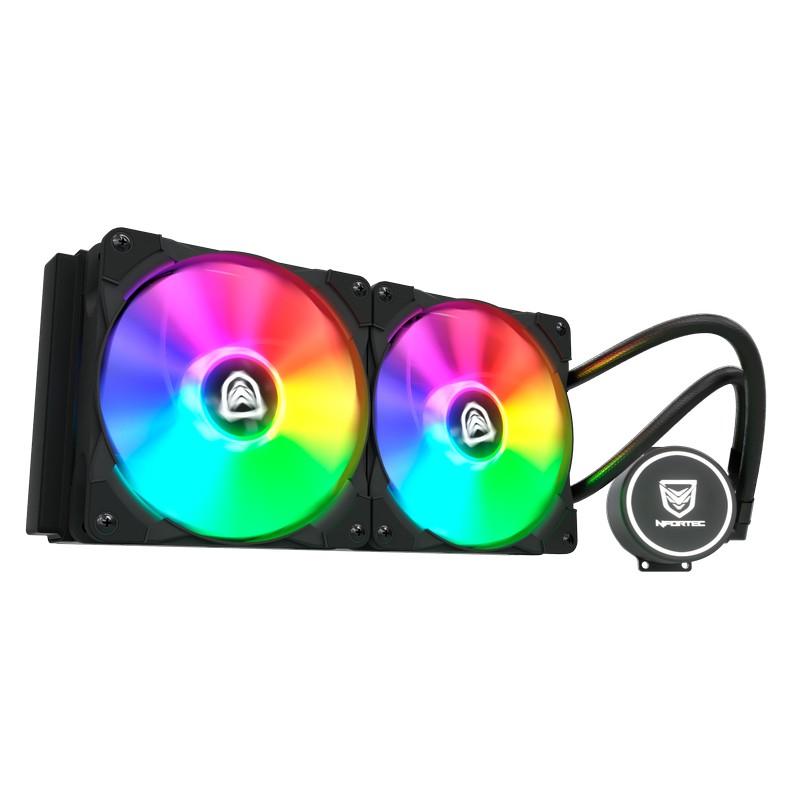 Nfortec Hydrus RGB 240 Kit de Refrigeración Líquida