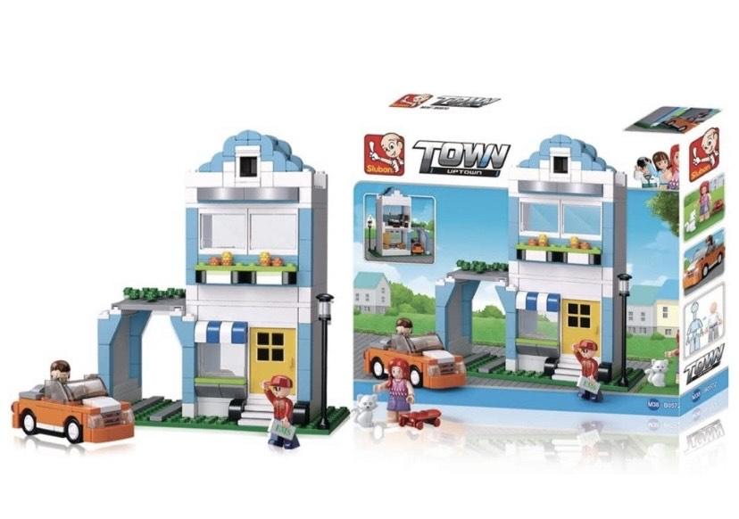 Sluban Bloques de Construccion Town House