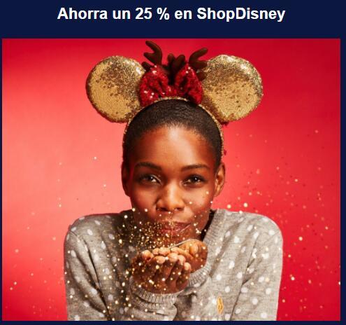 25% en ShopDisney si eres suscriptor de Disney+
