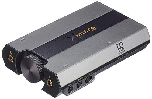 Sound BlasterX G6 USB-DAC 7.1 HD con Bi-amplificador PS4, Xbox One, Nintendo Switch, y PC (minimo en Amazon)