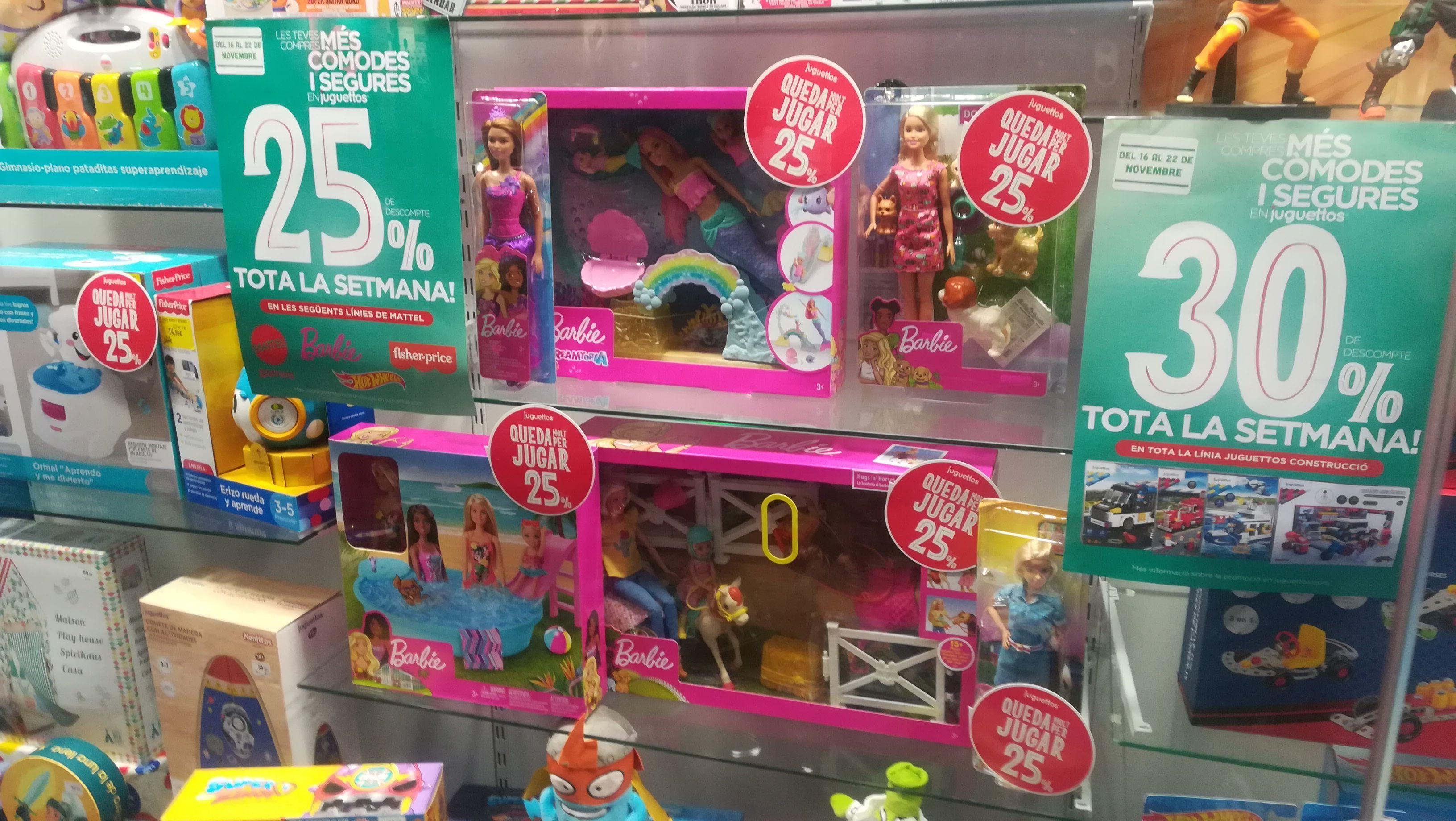 Barbie 25% descuento