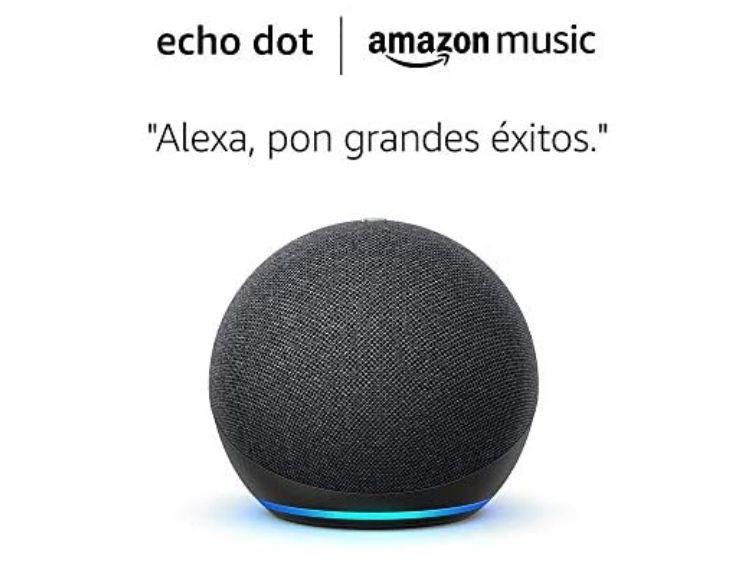 Amazon Echo Dot (4.ª generación) + 6 meses GRATIS Amazon Music Unlimited