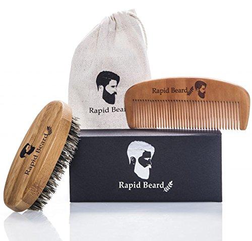 Cepillo y peine para barba