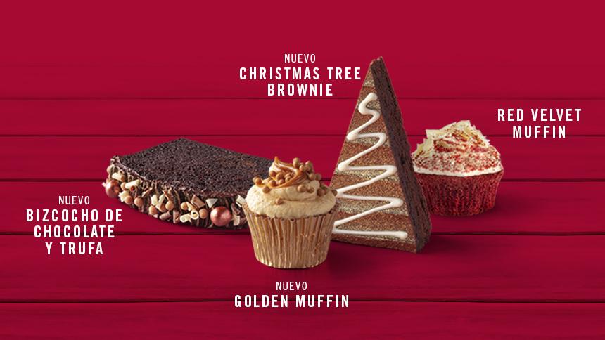 Nuevos dulces navideños a 1,50€ en Starbucks