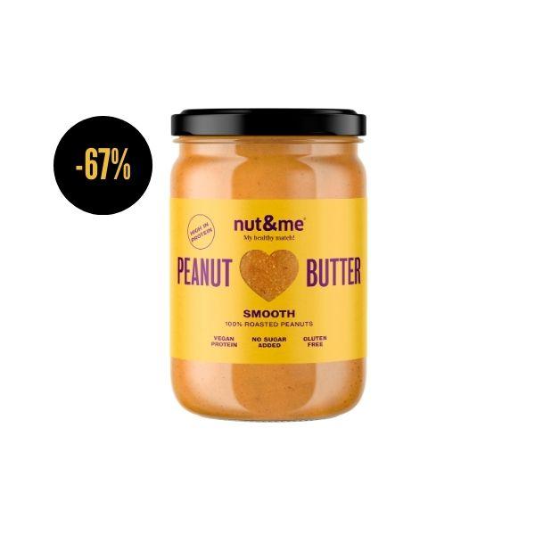 Crema de cacahuete cremosa 500 g