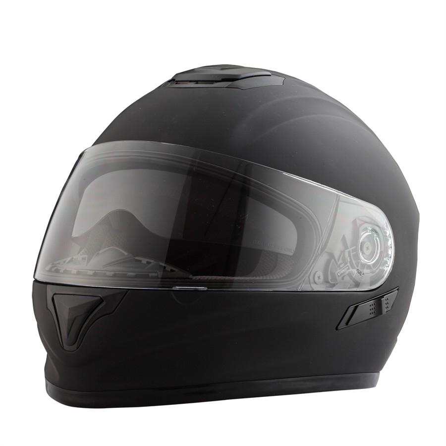 Casco Moto integral RIDE 801 negro mate M