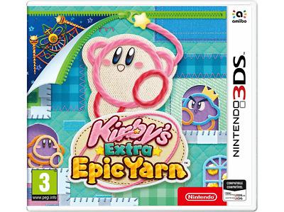 NINTENDO Kirby's Extra Epic Yarn 3DS