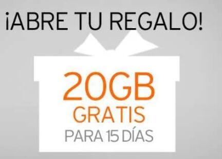 20Gb gratis simyo