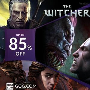Recopilatorio :: 85% saga The Witcher, 90% juegos desarrollados en Polonia @GOG