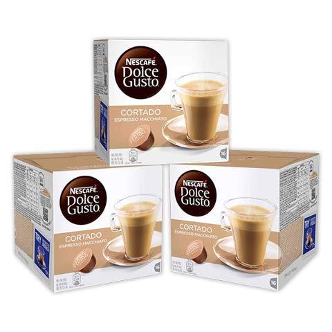 Café Dolce Gusto Cortado [Pack 6 cajas de 18 capsulas cada una]