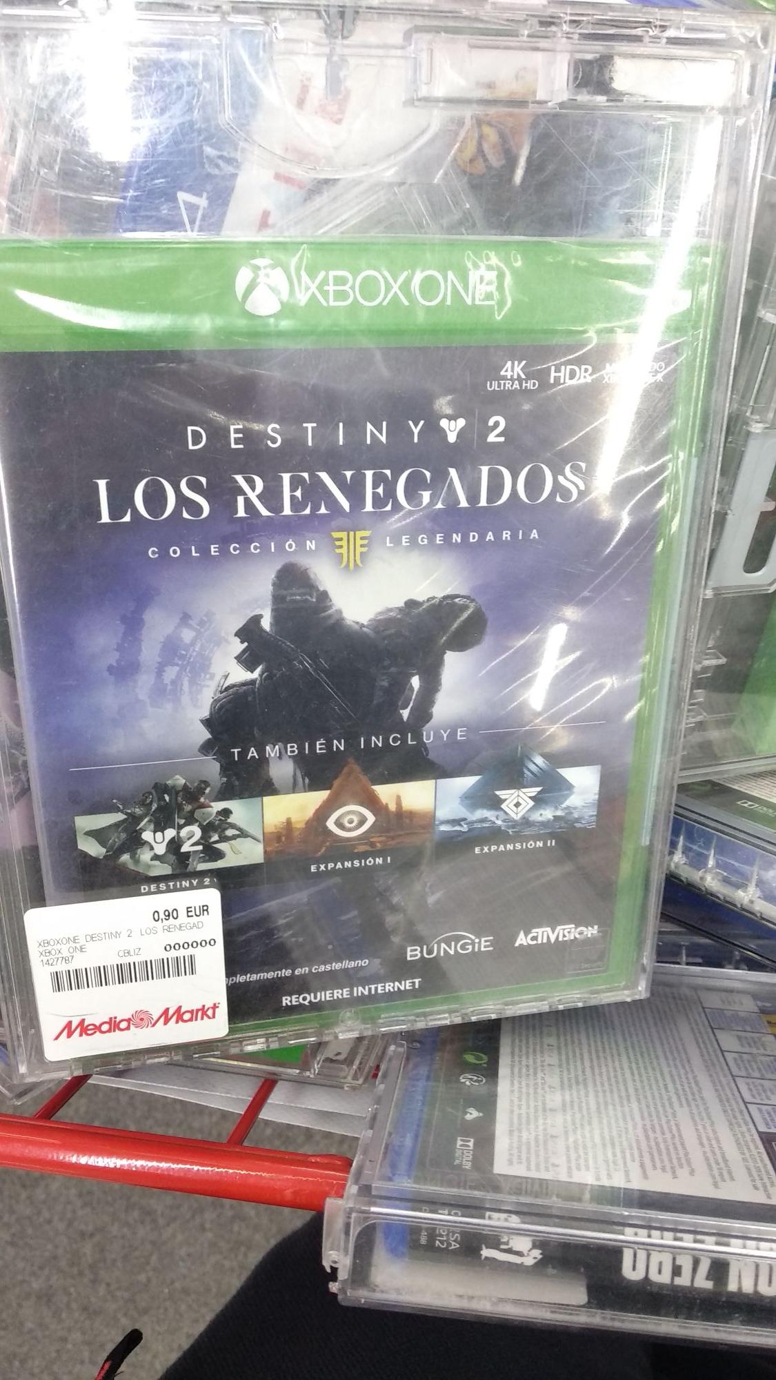 XBOX ONE Destiny 2: Los Renegados - Colección Legendaria