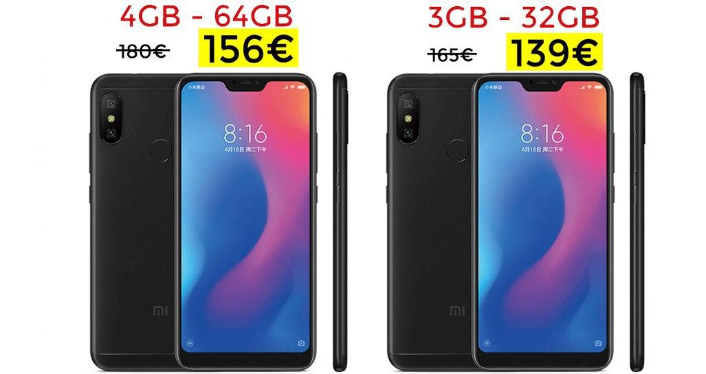 Xiaomi MiA2 Lite desde sólo 139€