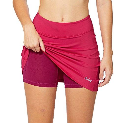 BALEAF falda deportiva ligera con bolsillos para correr, tenis y golf talla M